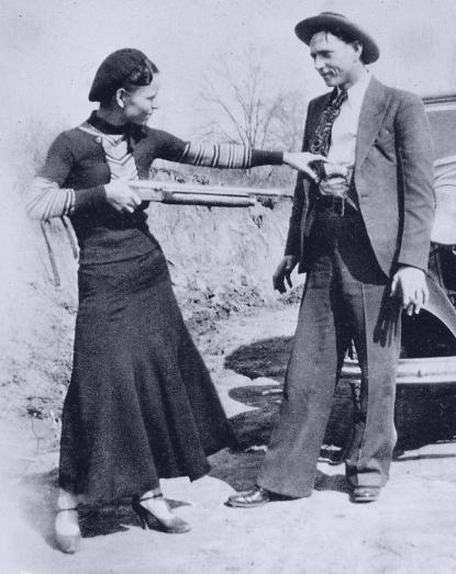 Bonnie & Clyde gun photo 6
