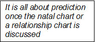 Text about prediction