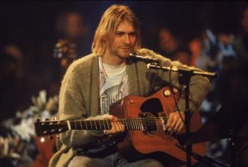 Kurt and Guitar photo