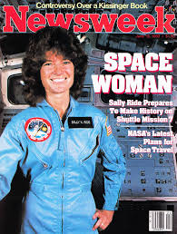 Sally Ride photo mag cover