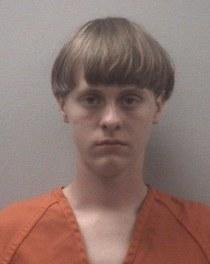 Dylann in custody photo
