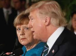 Trump-Merkel photo