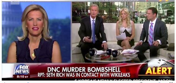 Fox News on Seth Rich