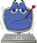 Sick computer icon